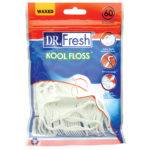 Dr Fresh waxed Kool Floss picks 60 pack