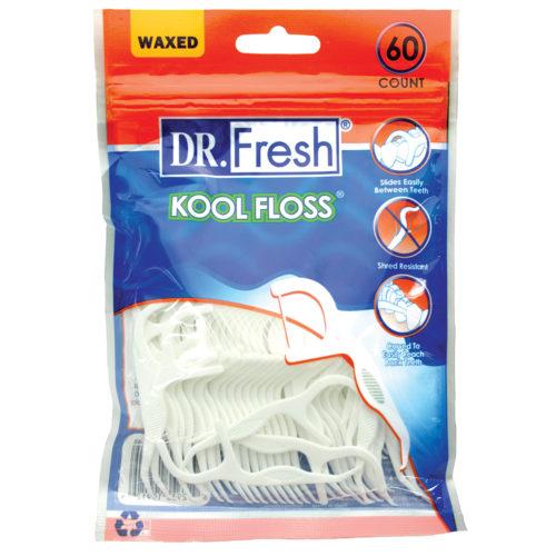Dr Fresh waxed Kool Floss picks 60 pack