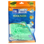 Dr fresh mint waxed Kool Floss 60 count